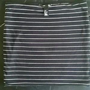 Two Jersey mini skirts